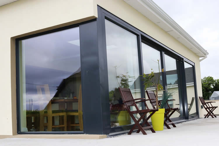Modern Panoramic Aluclad Installation Youghal Glass Consultancy & Frames