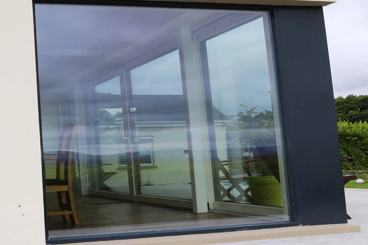 Modern Panoramic Aluclad Installation Youghal Glass Consultancy