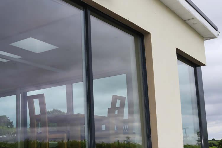 Modern Panoramic Aluclad Installation