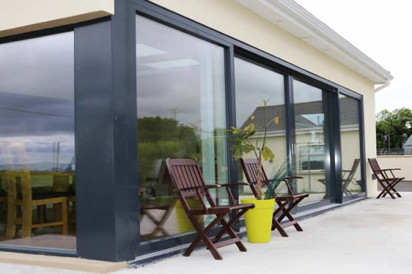 Modern Panoramic Aluclad Installation Youghal Glass Windows