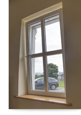 Youghal Glass Tilt and Turn Windows