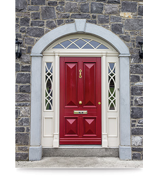 Youghal Glass Timber Entrance Doors