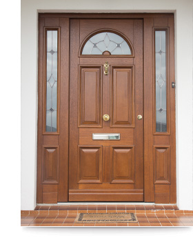 Youghal Glass Wooden Doors