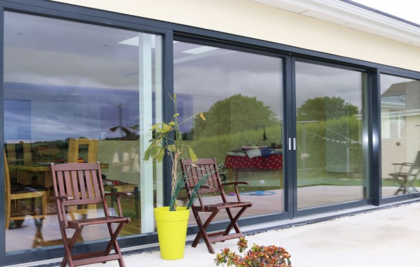 Youghal Glass Aluclad Sliding Doors