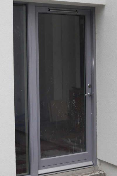Aluclad Entrance Doors & Corner Windows