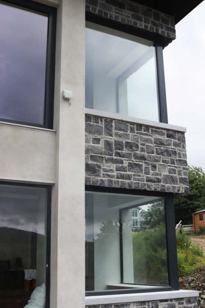 Aluclad Fixed Corner Windows