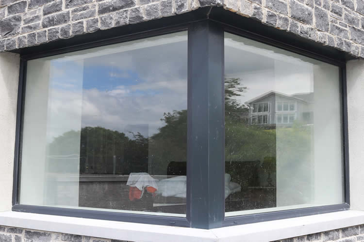 Aluclad Fixed & Casement Corner Windows A Rated