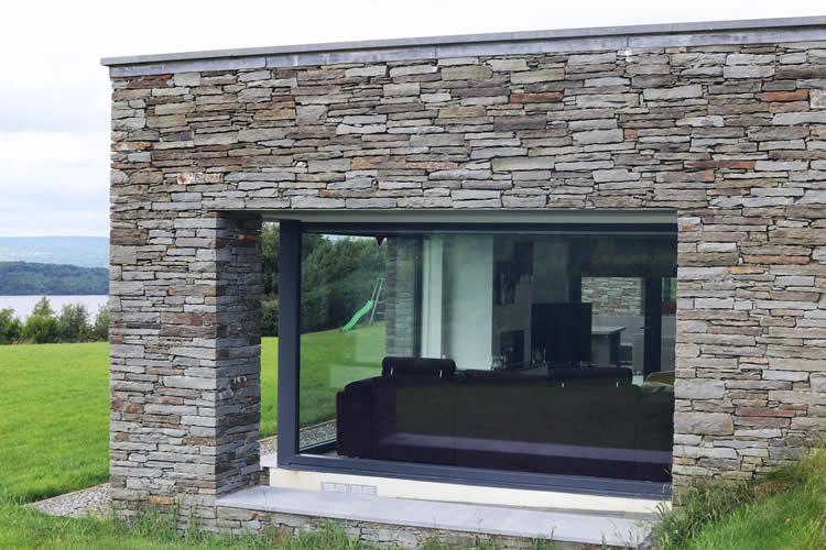 Aluclad Panoramic Bi-Fold Doors Youghal Glass